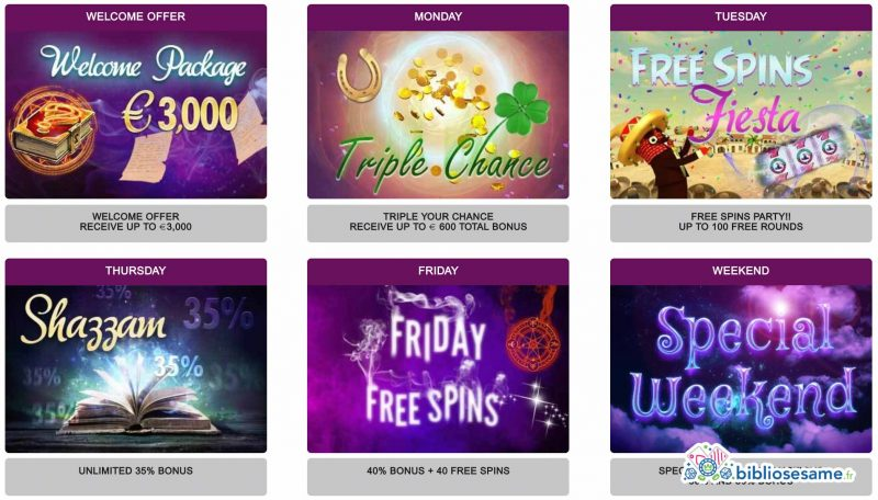 magical spin promotions