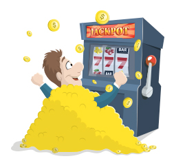 jackpot machines a sous